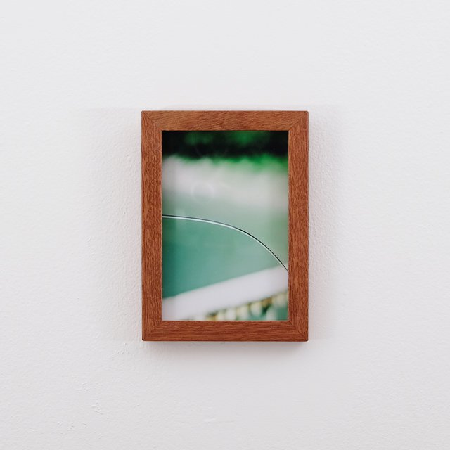 The film. by TAKASHI HAMADA. Photo Print with Wood Frame – Small