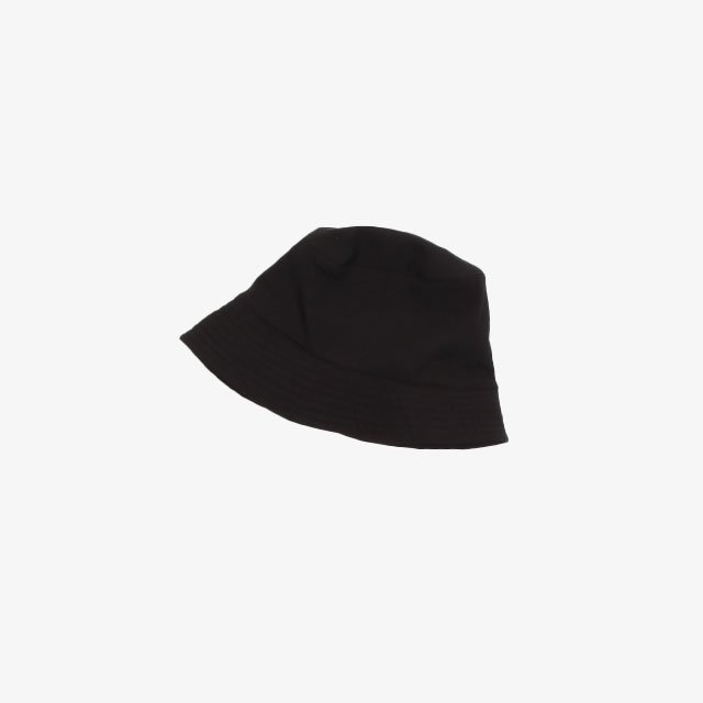 Engineered Garments Bucket Hat – Polyester Fleece Black [JL245]