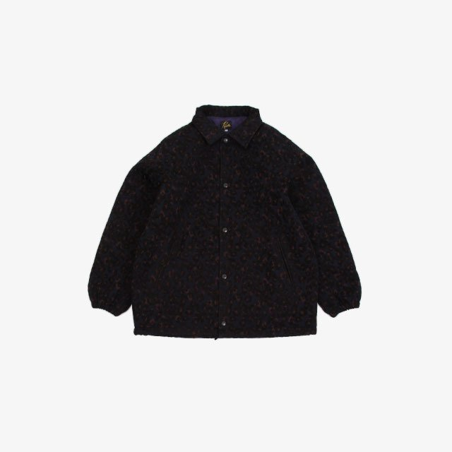 Needles Coach Jacket – R/Pe/W/Cu Leopard Mall Jq. [JO185]