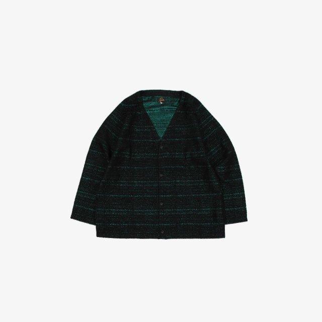 Needles V Neck Cardigan – W/N/R/Pe Lame Cloth Jq. [JO113]