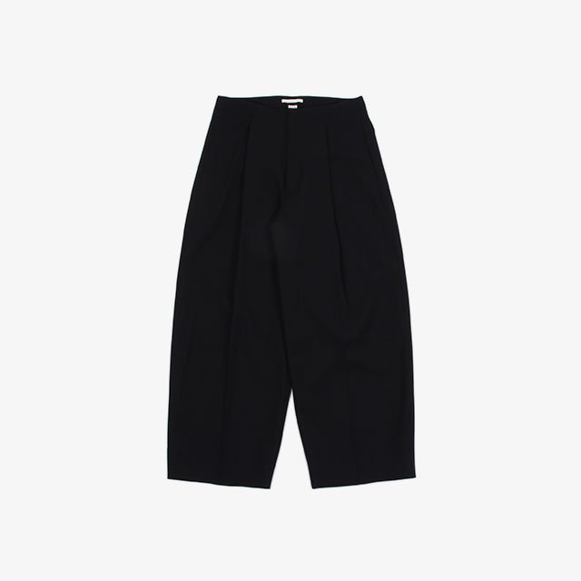 blurhms Wool Surge Super Wide Easy Slacks [BHS21F007]