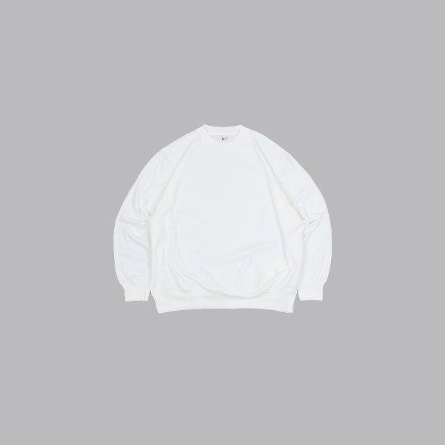 blurhms Silk Cotton 20/80 Crew-neck Big L/S [ROOTS2107F21]