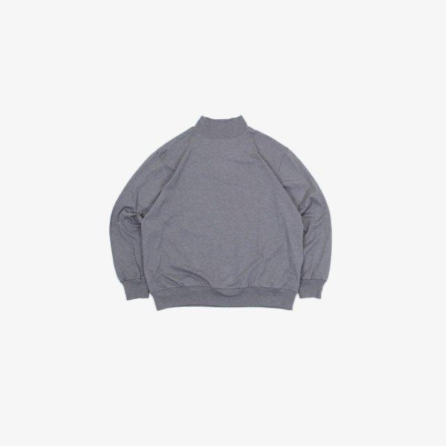 blurhms Silk Cotton 20/80 High-neck Big L/S [ROOTS21F15]