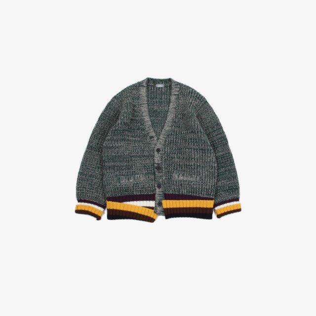 kolor BEACON Mixed Cardigan [21WBM-N02331]