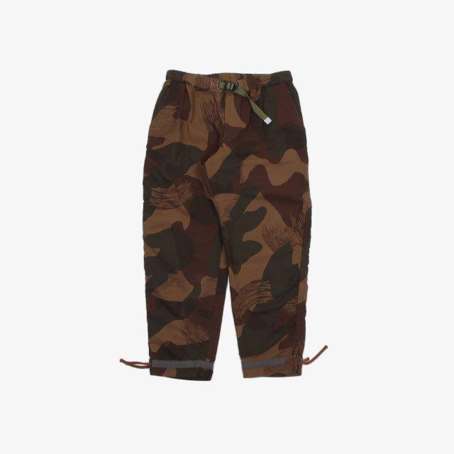 kolor BEACON Camoufrage Easy Pant B-Brown [21WBM-P09134]