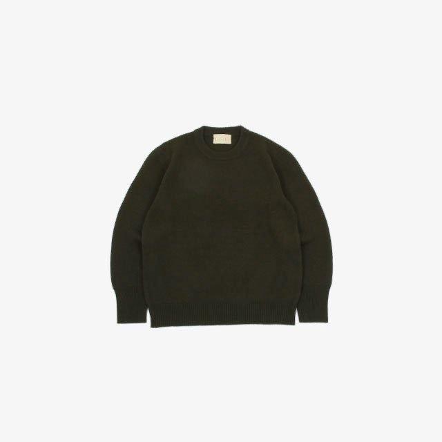 cantate Crew Neck Sweater [21AWCA0286]