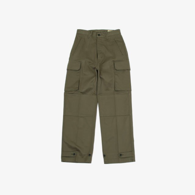 cantate M-48 Field Pants OLIVE [21AWCA0297]