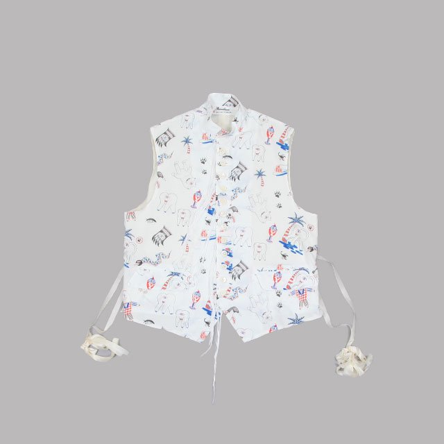 Midorikawa VEST OUT OF MUSEUM [MID21FW-SH01]