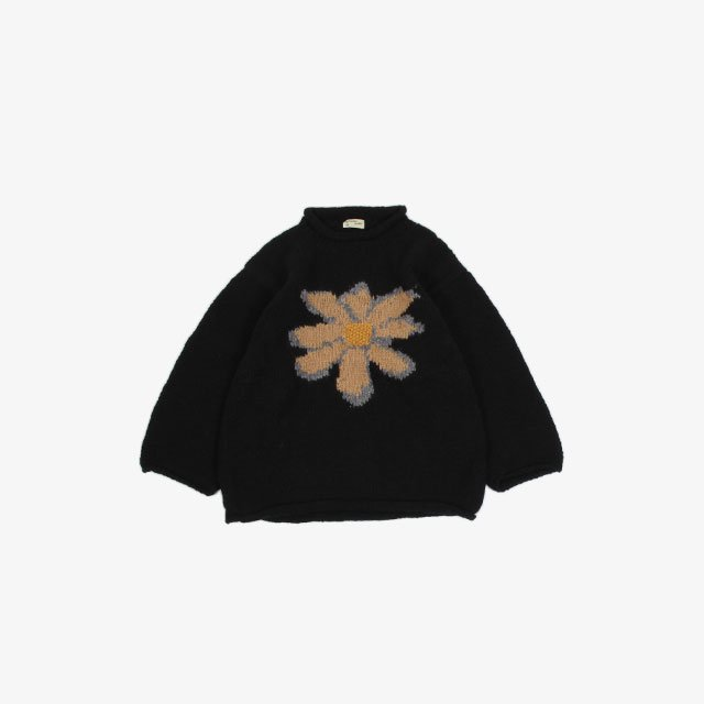 niche. Roll Neck Knit – Flower [A11Roll-FLO]