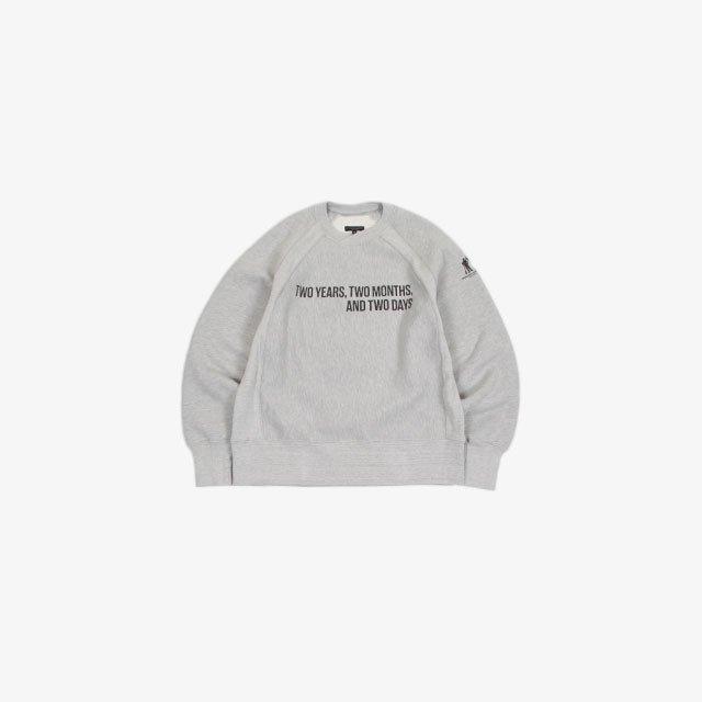 Engineered Garments Printed Raglan Crew-Two Years – CP Heavy Fleece [JL071]