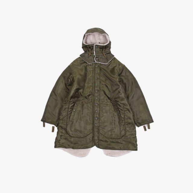 Engineered Garments Liner Jacket – Polyester Pilot Twill Olive Drab [JL167]