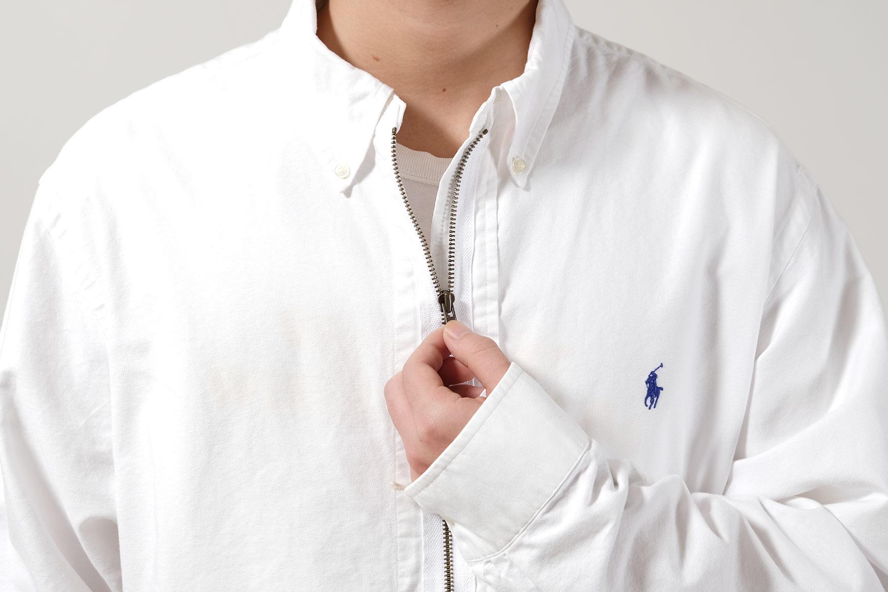 go-getter Remake Denim & Zip Shirt