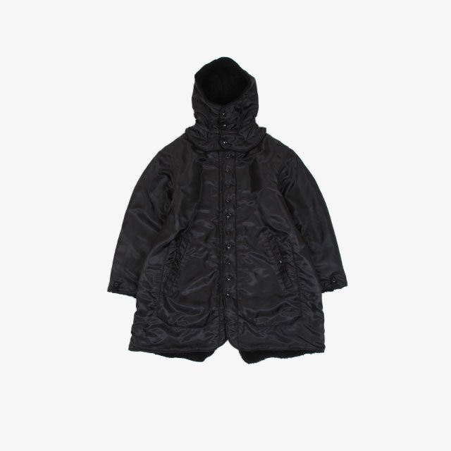 Engineered Garments Liner Jacket – Polyester Pilot Twill Black [JL167]