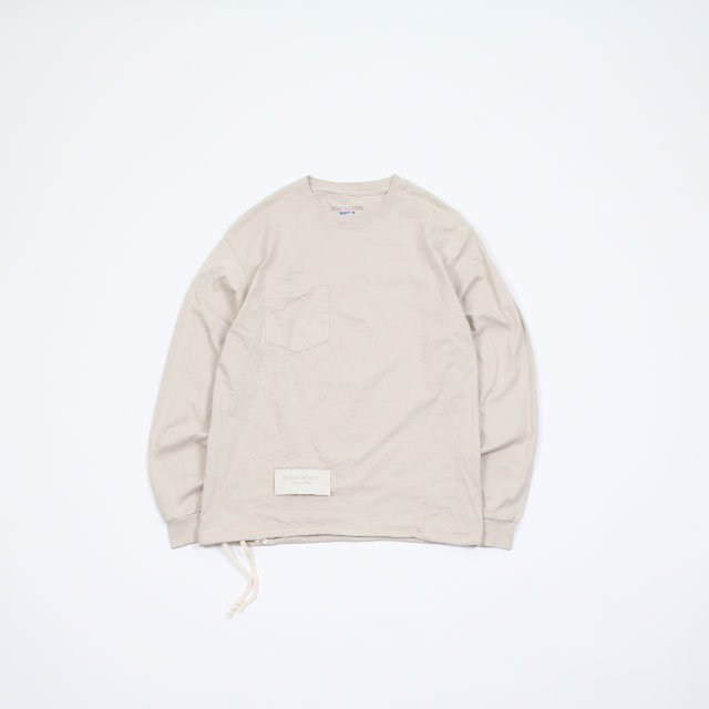 HESTRADA Gee-Wiz L/S SWITCH POCKET TEE with ATHLETIC SHOE LACE [310]