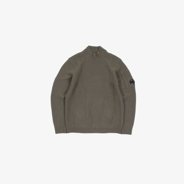 C.P. COMPANY LAMBSWOOL TURTLE NECK KNIT WEAR  [11CMKN144A-005504A]