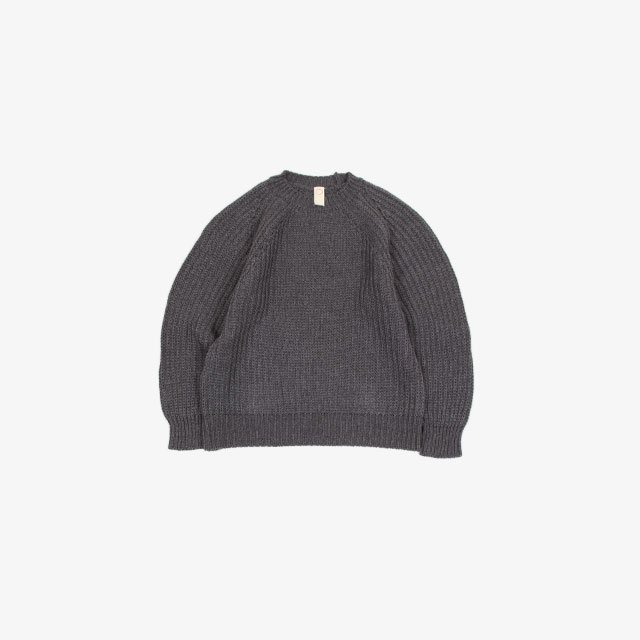 O project KNITTED CREW NECK [O12KN2]